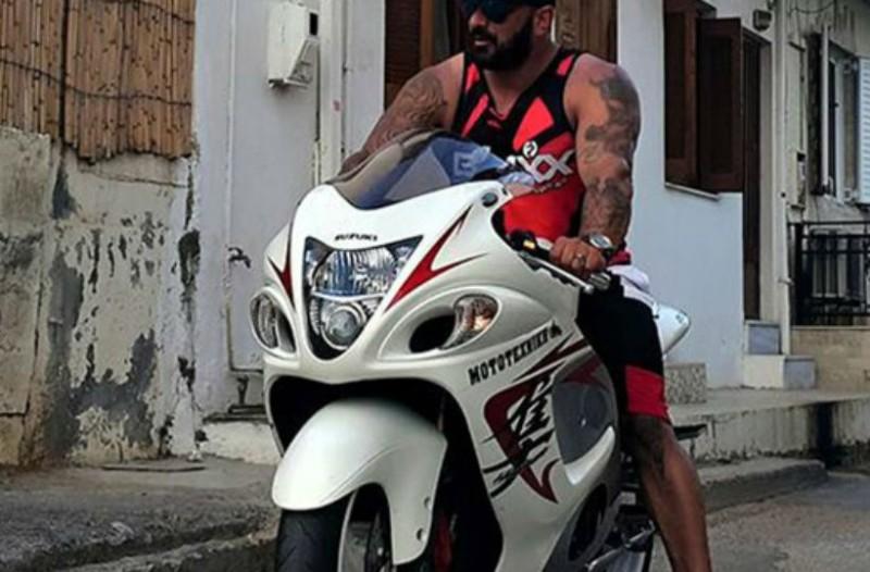 Σοβαρό τροχαίο με μοτοσυκλέτα για Έλληνα πρωταθλητή του bodybuilding!