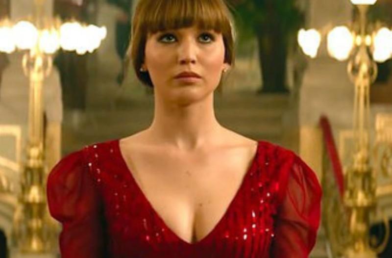 Η αμηχανία των συντελεστών του «Red Sparrow» όταν η Jennifer Lawrence εμφανίστηκε γυμνή
