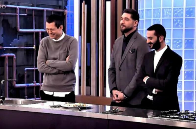 Νέο επικό σκηνικό στο Master Chef: Η Γωγώ δοκίμασε πιάτο του Κουτσόπουλου και το βλέμμα της έκανε τους κριτές να... ξεκαρδιστούν! (video)