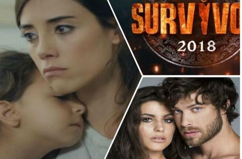 Χαμός στην prime time της τηλεθέασης! Καταποντίστηκε το Αnne! Τι νούμερα σημείωσαν Survivor και Τατουάζ;