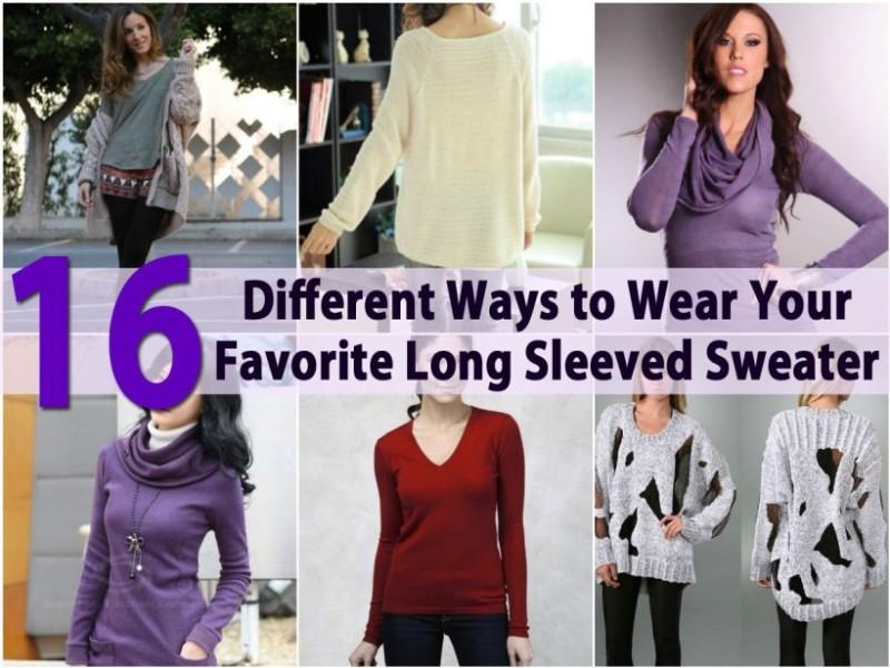 10 εναλλακτικοί τρόποι να φορέσεις με στύλ το κλασικό σου πουλόβερ ... 76a29e4c5d0