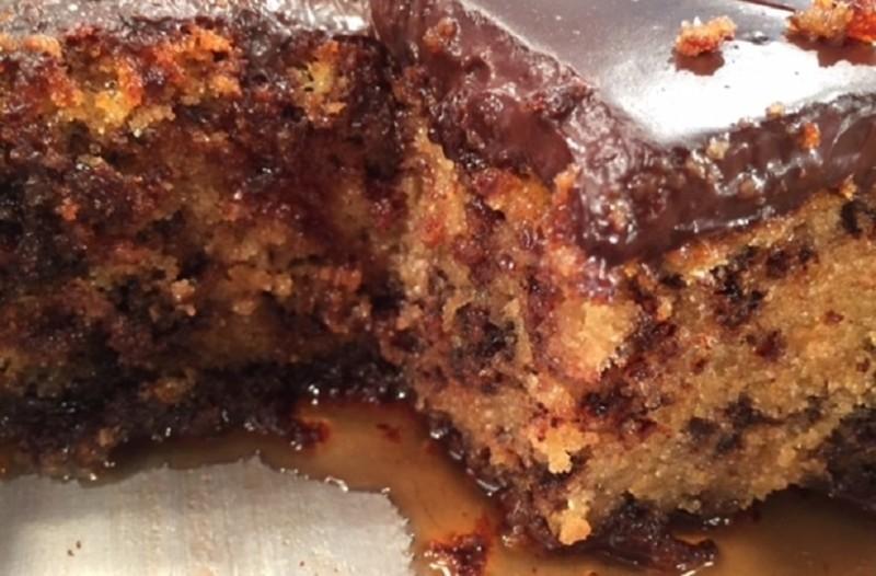 Λαχταριστό και γρήγορο: Γλυκό τρουφάτο με κρέμα σοκολάτας!