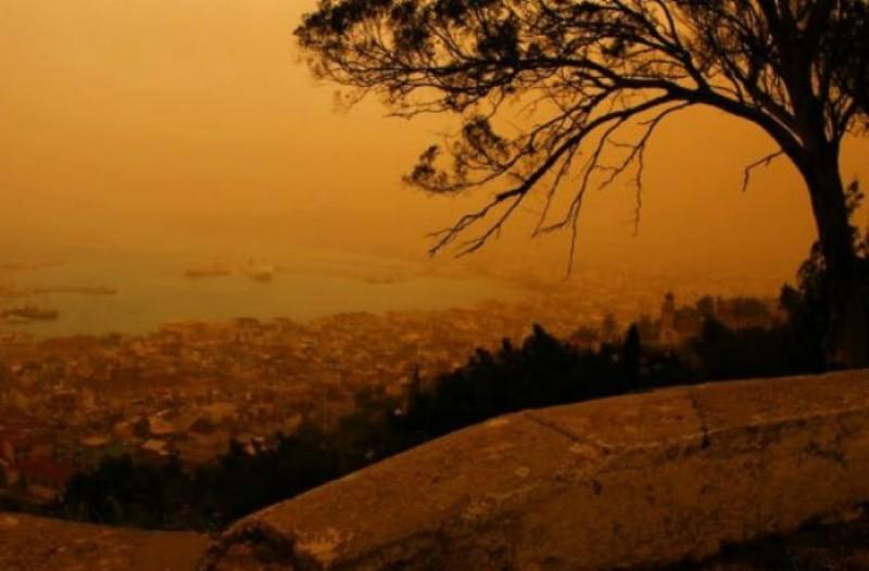 «Τρελός»  ο καιρός και σήμερα! Ποιες περιοχές θα πνίξει η αφρικανική σκόνη;