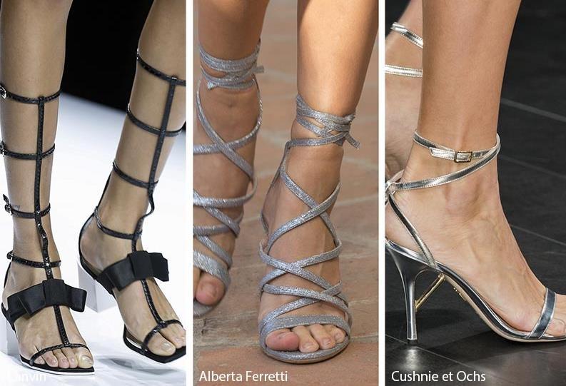 5668214b8a Η μόδα στα γυναικεία παπούτσια για την Άνοιξη- Καλοκαίρι 2018 ...