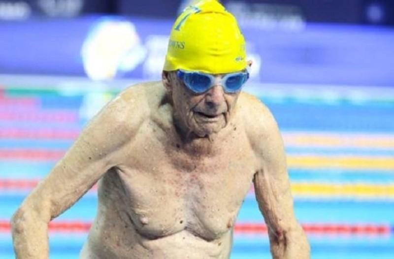 Αυστραλία: παγκόσμιο ρεκόρ κολύμβησης καταρρίφθηκε από...99χρονο!