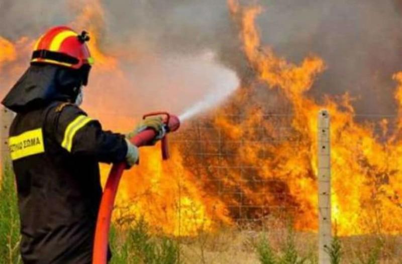 Αρνείται τις κατηγορίες ο 46χρονος για τη φωτιά στη Φρίξα