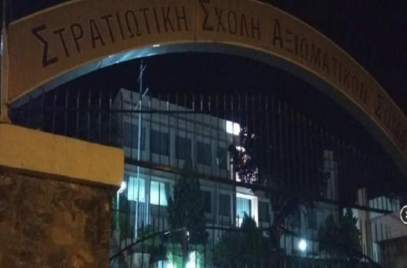 Θεσσαλονίκη: Αντιεξουσιαστές έγραψαν συνθήματα στη στρατιωτική σχολή!