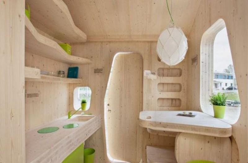 Στην Σουηδία σχεδιάστηκε ένα φοιτητικό σπίτι 10 τ.μ! (photos)