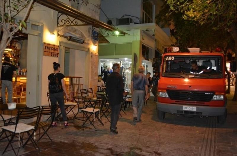 Χαμός στα Χανιά: Έκρηξη φιάλης υγραερίου σε εστιατόριο! (Photo)