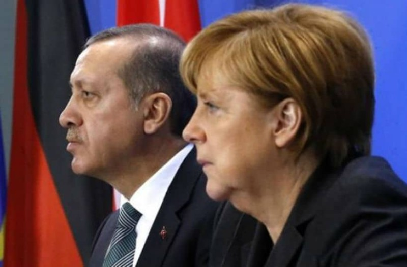 Τα είπαν τηλεφωνικά Μέρκελ - Ερντογάν για την ένταση Παλαιστίνης-Ισραήλ