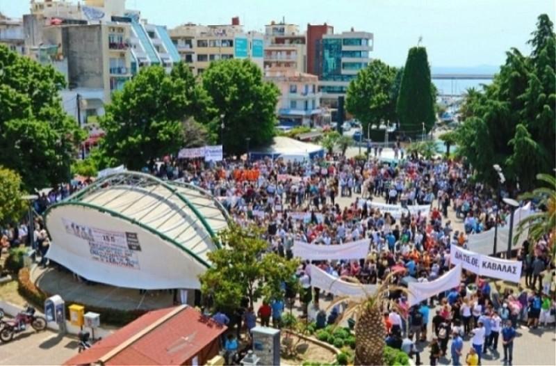 Καβάλα: Συλλαλητήριο κατά του νέου σταθμού διοδίων (Photos)