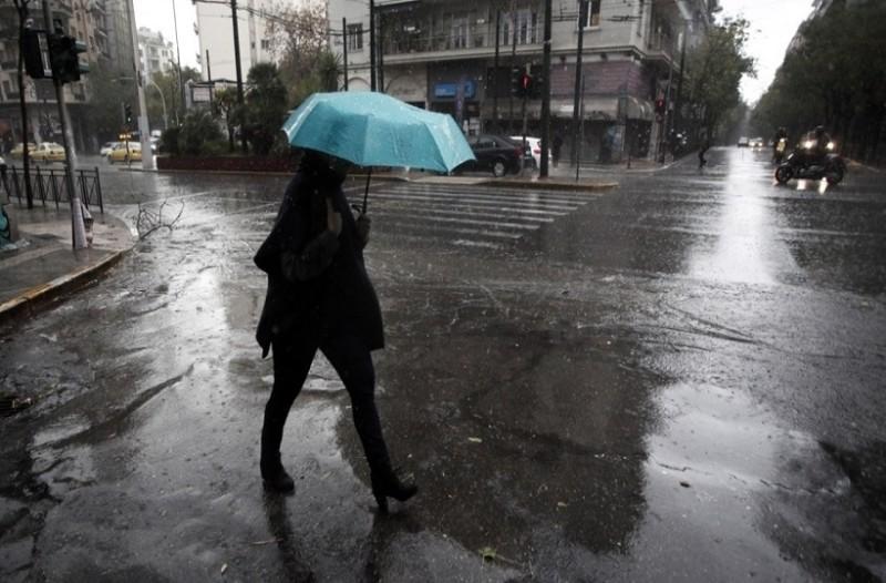 Συνεχίζεται και σήμερα, Τρίτη η κακοκαιρία με βροχές και καταιγίδες!