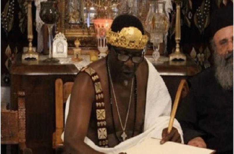 Aπίστευτο: Αφρικανός βασιλιάς βαφτίστηκε χριστιανός στο Άγιο Όρος! (photos)