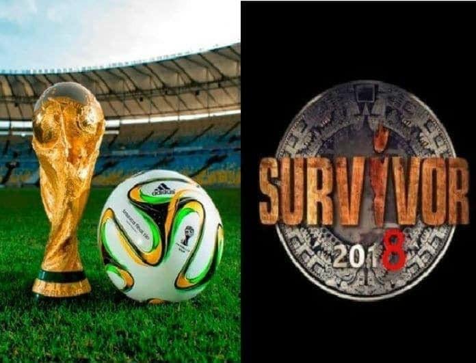 Άνοδος για το Survivor: Έβαλε... γκολ στο Μουντιάλ!