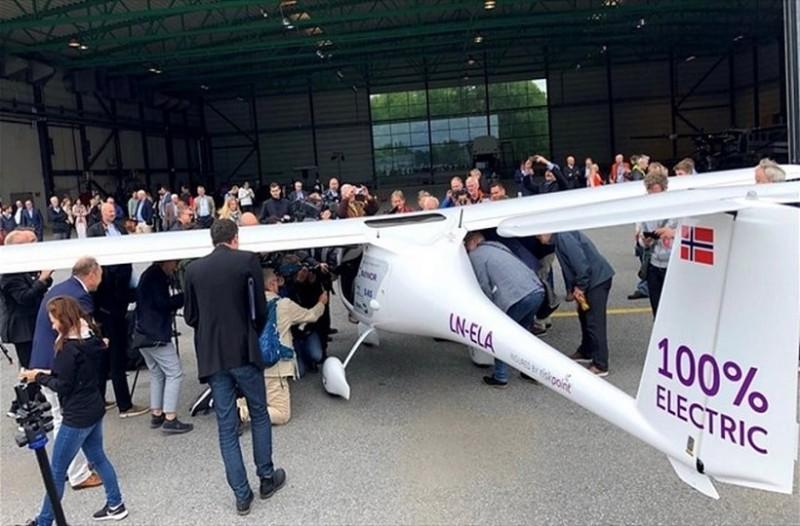 Νορβηγία: Η δοκιμή μικρού ηλεκτρικού αεροπλάνου είναι γεγονός!