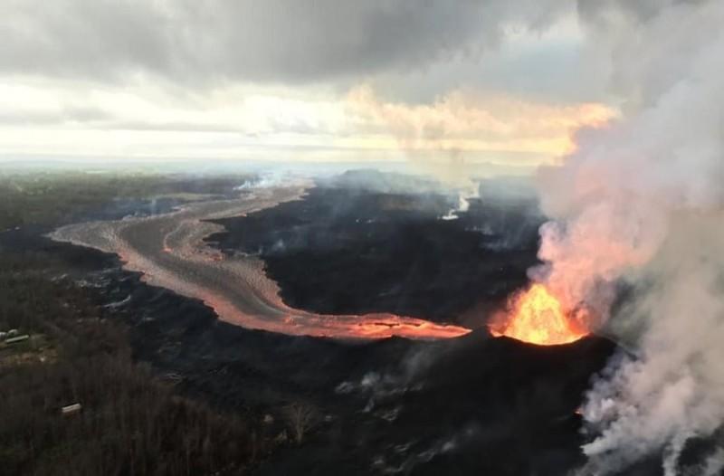 Απίστευτο βίντεο: Ποτάμια λάβας ρέουν για 33 ημέρες στη Χαβάη!