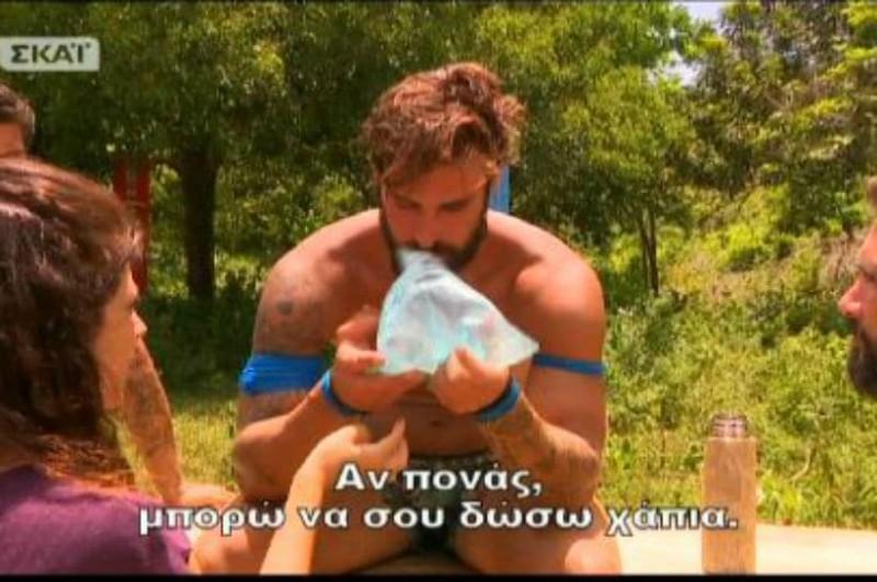 Survivor 2: Τραυματισμός - σοκ! Έσπασε τα δόντια του Ηλίας Γκότσης! (photo & video)