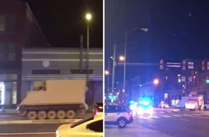 Στρατιώτης την... είδε GTA, έκλεψε ένα τανκ και πήρε τους δρόμους! (video)