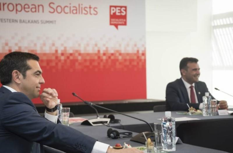 Σκοπιανό: Μετά τις 18:30 θα δοθεί στα κόμματα η συμφωνία Τσίπρα-Ζάεφ