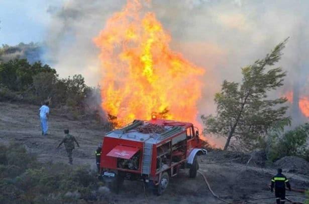 Κρήτη: Νέο πύρινο μέτωπο - Δίνουν μάχη με τις φλόγες οι Πυροσβέστες
