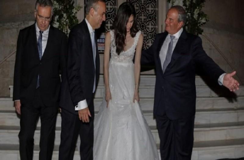 8d7e5352c530 Ο λαμπερός γάμος στη Γλυφάδα με κουμπάρο τον Κώστα Καραμανλή ...