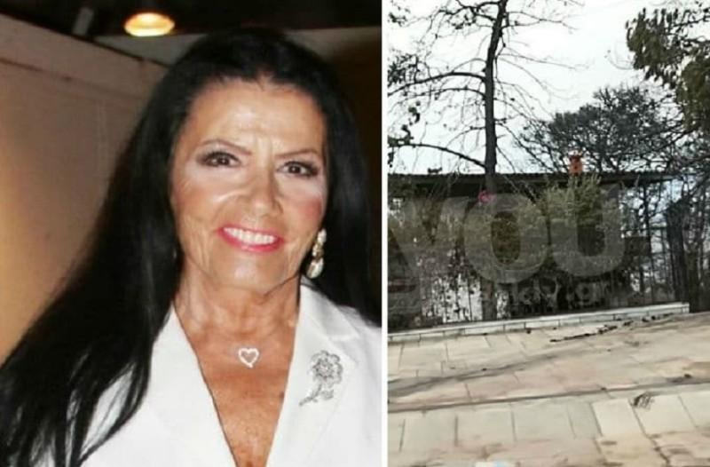 Σοκάρουν οι πρώτες εικόνες από το καμένο σπίτι της Ζωζώς στη Κινέτα!