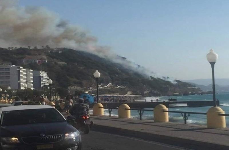 Θρίλερ με την πυρκαγιά στην Ρόδο, λίγες ώρες μετά την τραγωδία στο Μάτι!