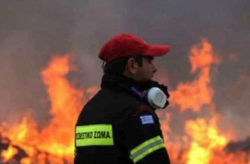 Θαύμα στις φλόγες! Φωτογραφία ντοκουμέντο! Είχε άγιο - Πέρασε η φωτιά από πάνω του και σώθηκε...