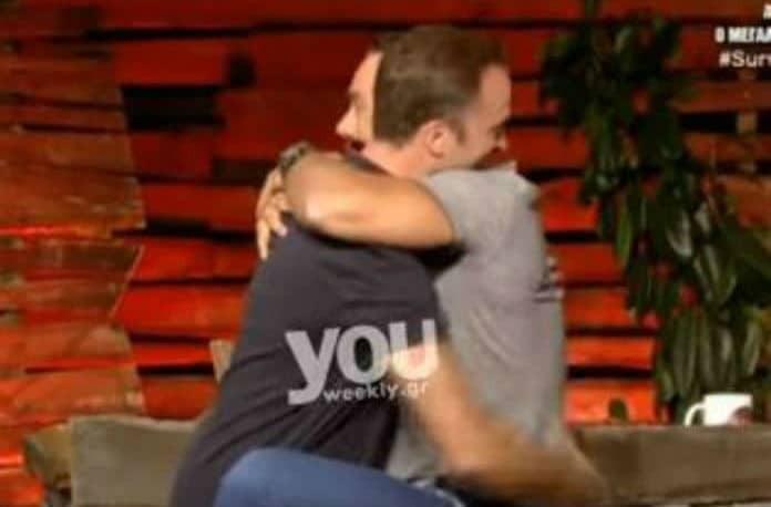 Survivor 2: Φιλιούνται-αγκαλιάζονται! Τανιμανίδης και Λιανός για την συνεργασία τους μέσα στο παιχνίδι! (video)