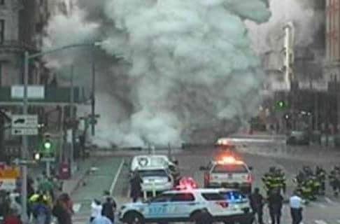 Ισχυρή έκρηξη στο Μανχάταν - Έκλεισε η Πέμπτη Λεωφόρος (video)