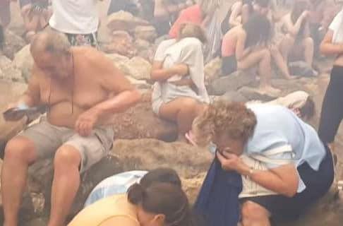 Νέο συγκλονιστικό βίντεο από την τραγωδία στο Μάτι: Μικροί και μεγάλοι προσπαθούν να γλιτώσουν από την πυρκαγιά!