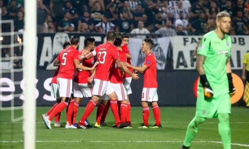 Champions League  Διέλυσε τον ΠΑΟΚ και το όνειρο του η Μπενφίκα! (video) 5b36d8c378a