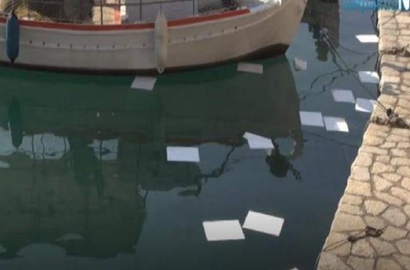 Συναγερμός στη Ναύπακτο: Διαρροή καυσίμου στο λιμάνι!