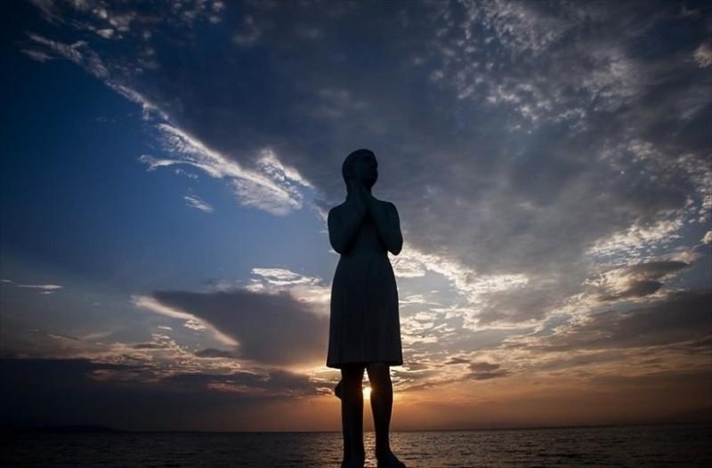 Η φωτογραφία της ημέρας: Η δύση του ηλίου πάνω από τον Παγασητικό Κόλπο!