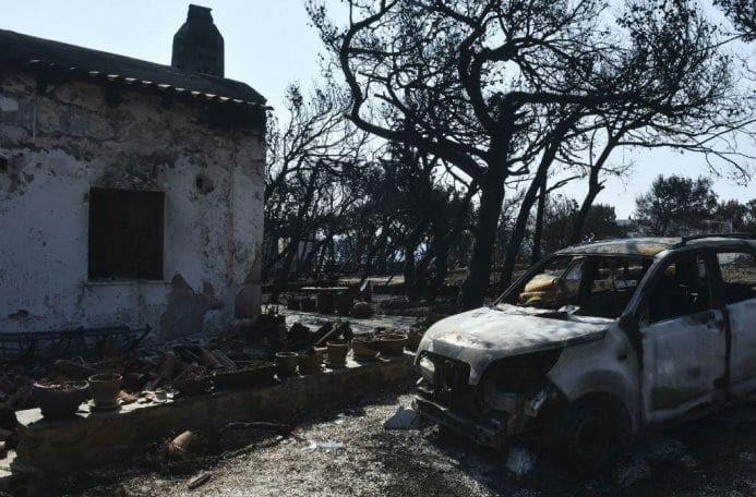 Φωτιά στο Μάτι: «Από Νοέμβριο και μετά οι κατάλληλες συνθήκες για διαμονή στην περιοχή»