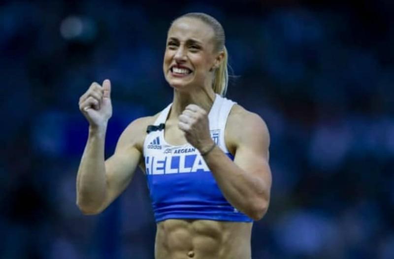 Συγκίνηση: Η αφιέρωση της Νικόλ Κυριακοπούλου στην κόρη της για το ασημένιο μετάλλιο!