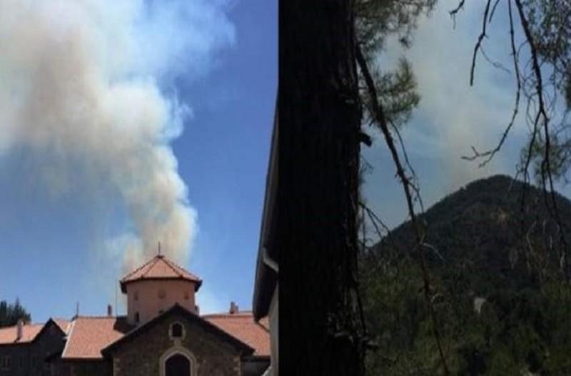 Πυρκαγιά στην Κύπρο!