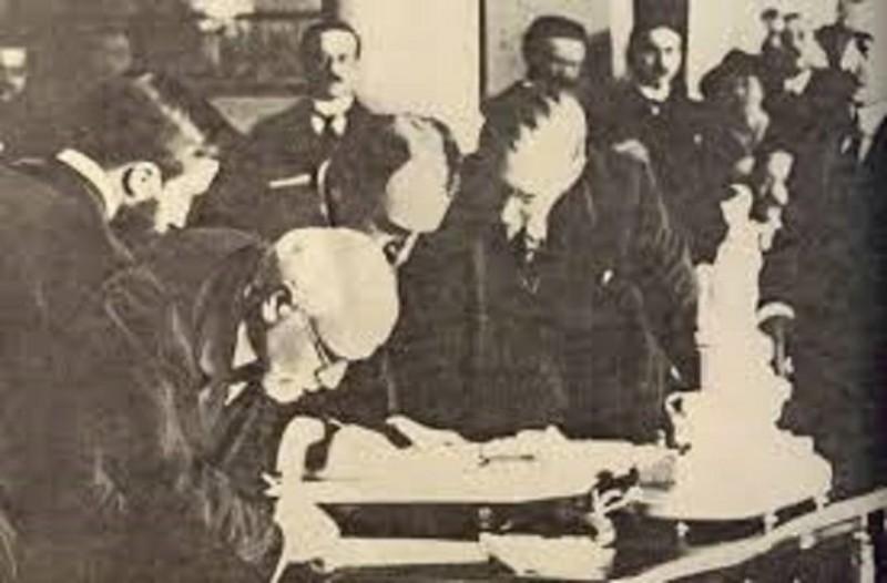 Σαν σήμερα, στις 10 Αυγούστου 1920, υπεγράφη η Συνθήκη των Σεβρών!