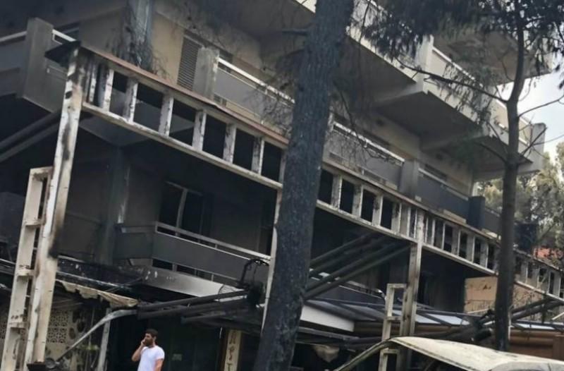 Συγκλονίζει ιδιοκτήτης καφετέριας στο Μάτι:  «Και που σώθηκε το μαγαζί μου τι έγινε, εδώ παιδάκια κάηκαν ζωντανά»