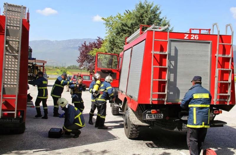 Πυρκαγιά σε οικόπεδο στο Μαραθώνα!