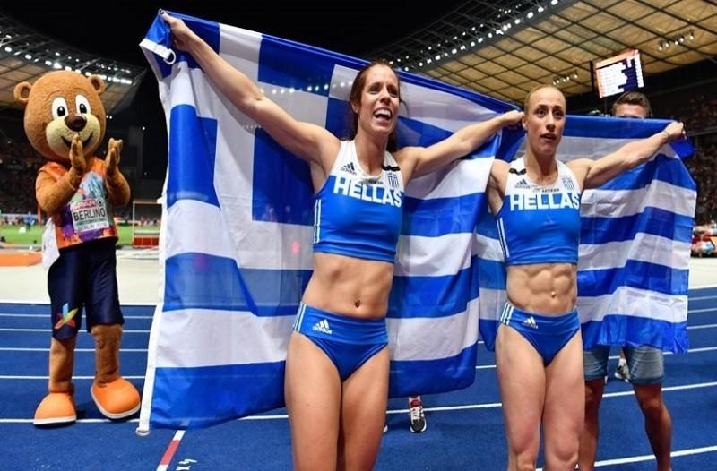 Στεφανίδη-Κυριακοπούλου: Τα χρυσά κορίτσια του επί κοντώ έγραψαν ιστορία! (videos)