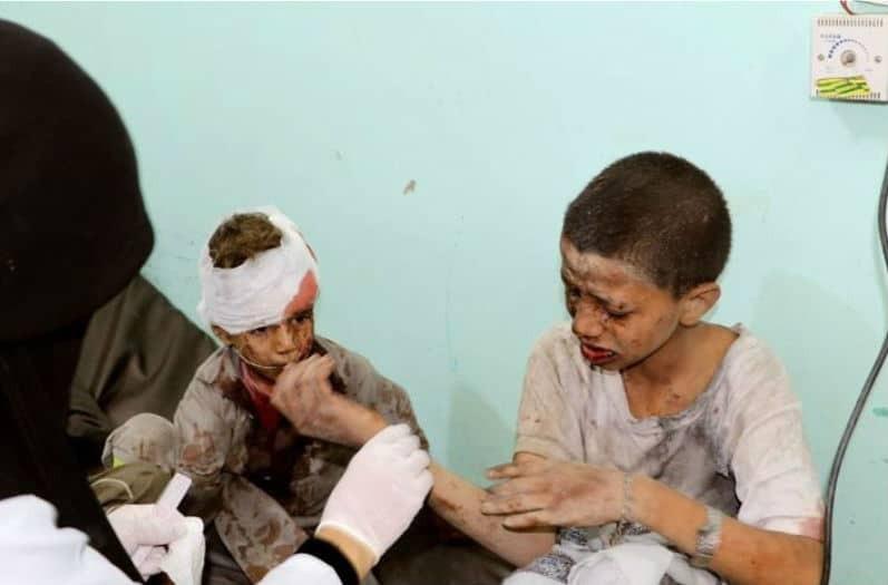 Σοκάρει ο απολογισμός στην Υεμένη: 40 νεκρά παιδιά από το χτύπημα της Σαουδικής Αραβίας
