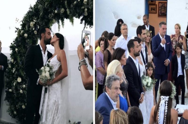 Καραγκιοζιλίκια στον γάμο Τανιμανίδη - Μπόμπα: Η παρουσία που εξόργισε το ζευγάρι!