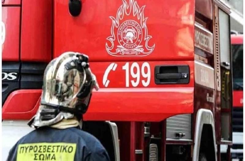 Πυρκαγιά στο κέντρο της Αθήνας!