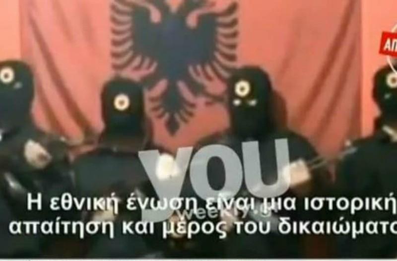 Ο Αλβανικός Εθνικός Στρατός απειλεί με αιματοχυσία! Όλο το ρεπορτάζ (video)