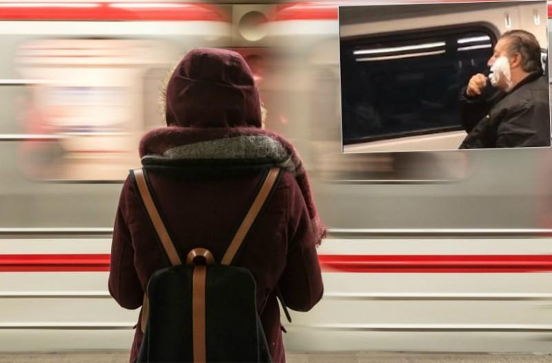 Η απίστευτη ιστορία πίσω από τον άνδρα που ξυρίζεται στο τρένο – Τι συνέβη (video)