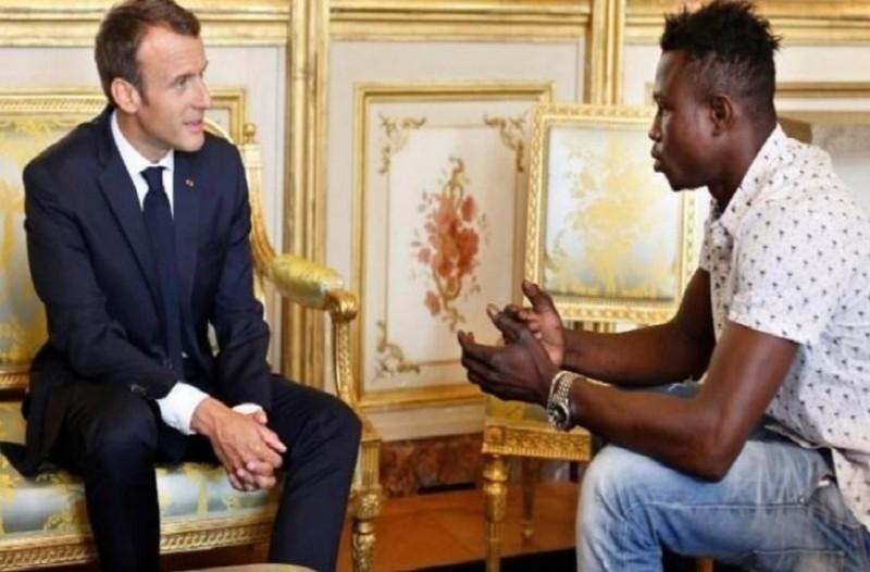 Γαλλική υπηκοότητα στον μετανάστη που έσωσε παιδί στο Παρίσι!