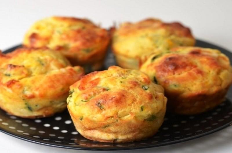 Muffins λαχανικών!