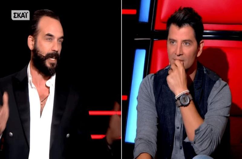 Πλακώθηκαν Ρουβάς - Μουζουράκης στο The Voice! Στην μέση ο ΣΚΑΙ
