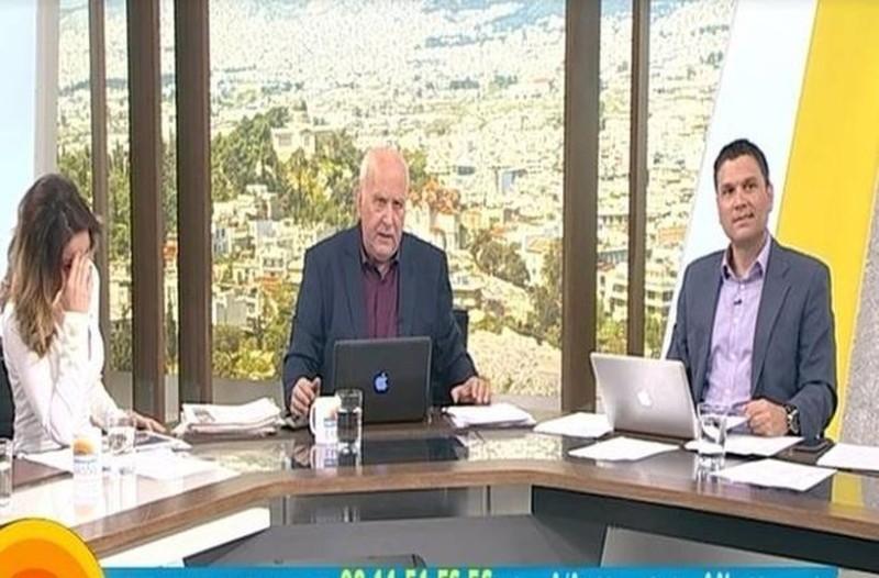 Πανικός στον ΑΝΤ1: Πλακωμένοι Παπαδάκης και Μπάγια!
